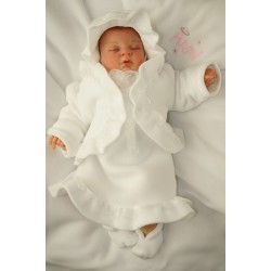 Winter Christening Dress Princess