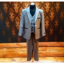 3 Pieces Gray Communion/Special Occasions Suit Style AK7