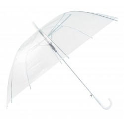 Transparent Large Umbrella/Parasol with White Handel style Ice