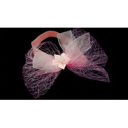 Pink Christening/Special Occasion Headband Style HB-03