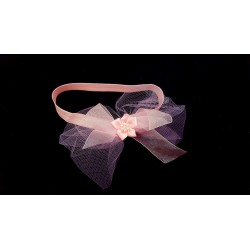 Pink Christening/Special Occasion Headband Style HB-05