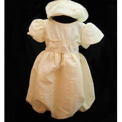 Lovely Ecru Christening/Special Occasion Dress style AX02