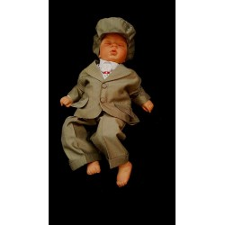 Dark grey 6 piece christening suit II