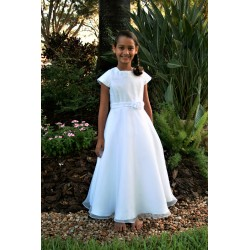 Lovely Simple Communion Dress by Sarah Louise style 090025