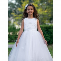 Amazing Communion/ Ceremonial Ballerina Length Dress by Sarah Louise - Style 070035