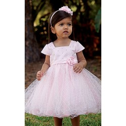 Lovely Pink Special Occasion/Ceremonial Ballerina Length Dress - Style 070112