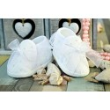 Baby Girl White Lace Christening/Baptism Shoes Style M062