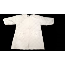 White Baby Girl Quilted Coat with Hood styl Pl-02