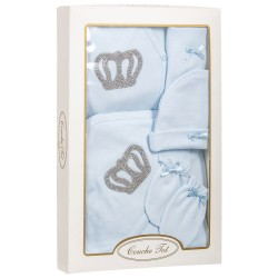 Lovely 6 pcs Set for Baby Boy in Gift Box style CT4042