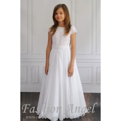 Handmade First Holy Communion Dress Style AGNES
