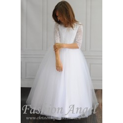 Lovely Handmade First Holy Communion Dress Style CALATEYA