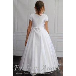 Simple Elegant Handmade First Holy Communion Dress Style DINA