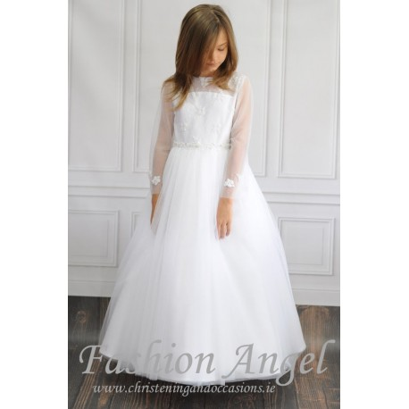 Handmade Lace&Tulle First Holy Communion Dress Style EMILY