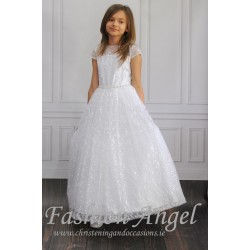Gorgeous Handmade First Holy Communion Dress Style LEILA