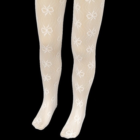 Lace Christening/Special Occasions Ivory Tights Style CRW12