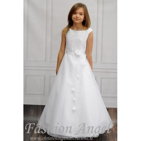 a93e7e33db0 Lovely Handmade First Holy Communion Dress Style MARIBEL