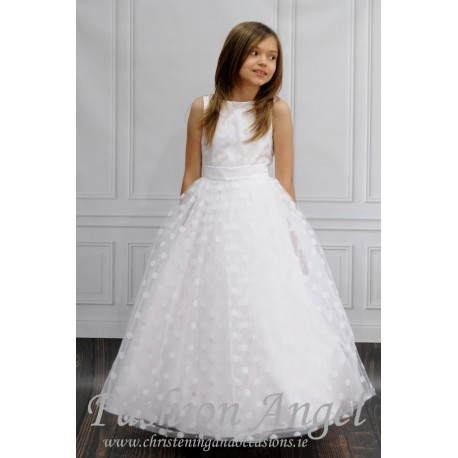 Unusual Handmade First Holy Communion Dress Style MELANIA