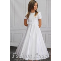 Simple Handmade First Holy Communion Dress Style PEARL