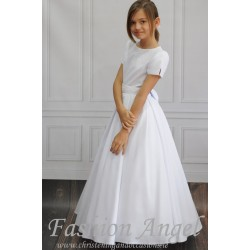 Elegant Handmade First Holy Communion Dress Style STELLA