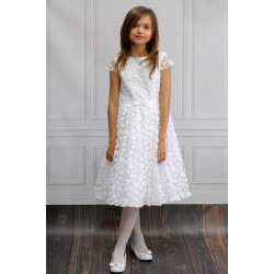 Handmade Ballerina Length First Holy Communion Dress Style BARBIE