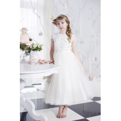 Pretty First Holy Communion Dress Style BELLA