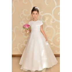 Elegant Simple Communion Dress style J3