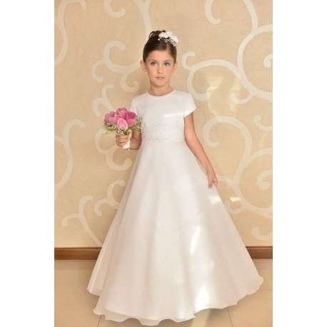 Elegant Simple Communion Dress style J3