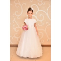 Lovely Girly Communion Dress style J4