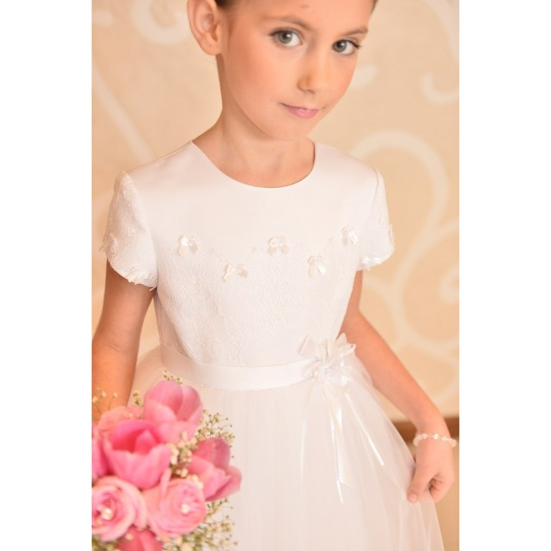 lovely girly communion dress