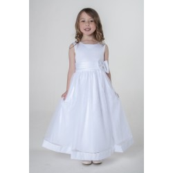 Flower Girls / Special Occasions Dress in White Style V340