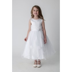 White Flower Girl / Special Occasions Dress Style V349