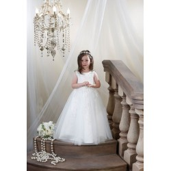 Ivory Flower Girl/Special Occasion/First Holy Communion Dress Style FG009