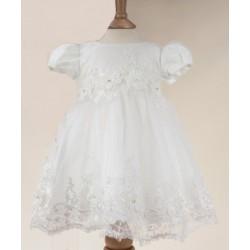 Sevva Ivory Christening Dress Style RIYA