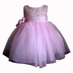 Pink Sevva Baby Flower Girls/Special Occasions Dress Style PC1025