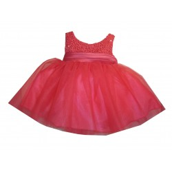 Fuchsia Sevva Baby Flower Girls/Special Occasions Dress Style PC1025