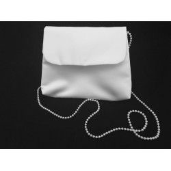 Perfect Simple Communion Bag with Pearls Strap style Emi02