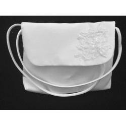 Communion Handbag with Lace style Emi03