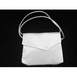 Elegant Plain Satin Communion Bag style Emi05