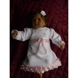 Christening Dress Sweet Pea Long Sleeve