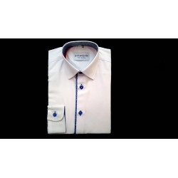 White/Blue Formal Shirt Style M 1