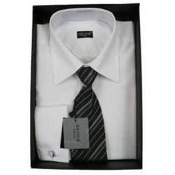 White First Holy Communion/Special Occasion Shirt with Tie Style B213