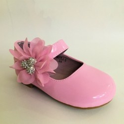 Lovely Pink Special Occasion Shoes Style 9015J-3