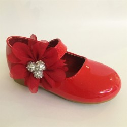 Lovely Red Special Occasion Shoes Style 9015J-3