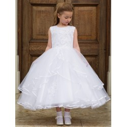 Cerimonia First Holy Communion Ballerina Length Dress Style SIENNA