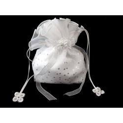 First Holy Communion Handbag with Sequins Style 5395