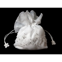 White First Holy Communion Handbag Style 4877