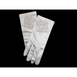 First Holy Communion White Gloves Style 742
