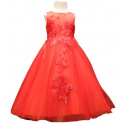 Sevva Red Flower Girls/Special Occasion Dress Style LUCKY