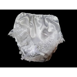 White Frilly Knickers style 1frill