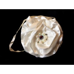 Ivory First Holy Communion/Special Occasion Rose Bag Style ROSE IVORY